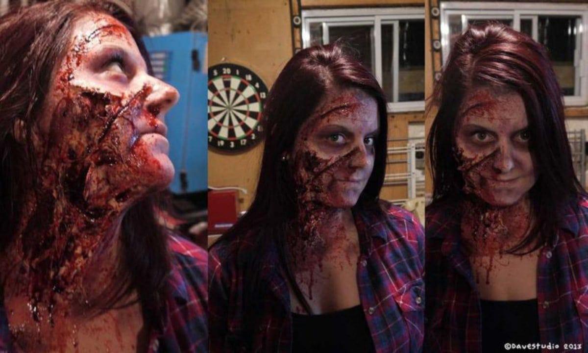 Un zombie crée par David Therrien l'an dernier.