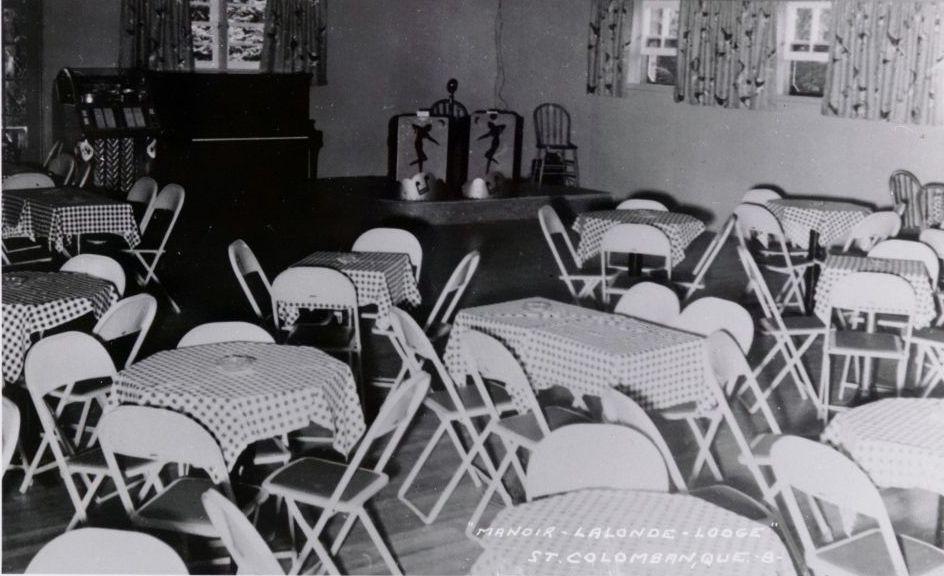 Photo du Manoir Lalonde à Saint-Colomban, via banq.qc.ca.