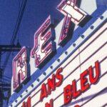 La marquise du Théâtre Rex était installé au centre-ville depuis 1930. Elle y est restée jusqu'au début des années 2000.