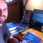 À la fin de 2013, Ugo Monticone a «sociofinancé» une édition limitée du Vendeur de goyaves, qui lui a permis de développer l'application numérique. Photo tirée de Facebook.
