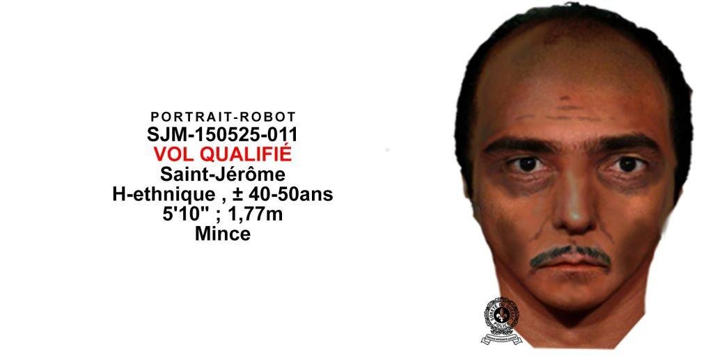 On cherche cet homme qui s'en est pris à une chauffeure de taxi, le 25 mai à Saint-Jérôme.
