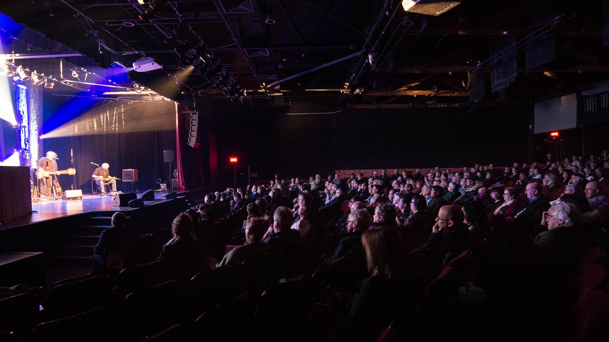 Le Patriote, lors du spectacle de lancement de la 50e saison, le 29 mars 2017.