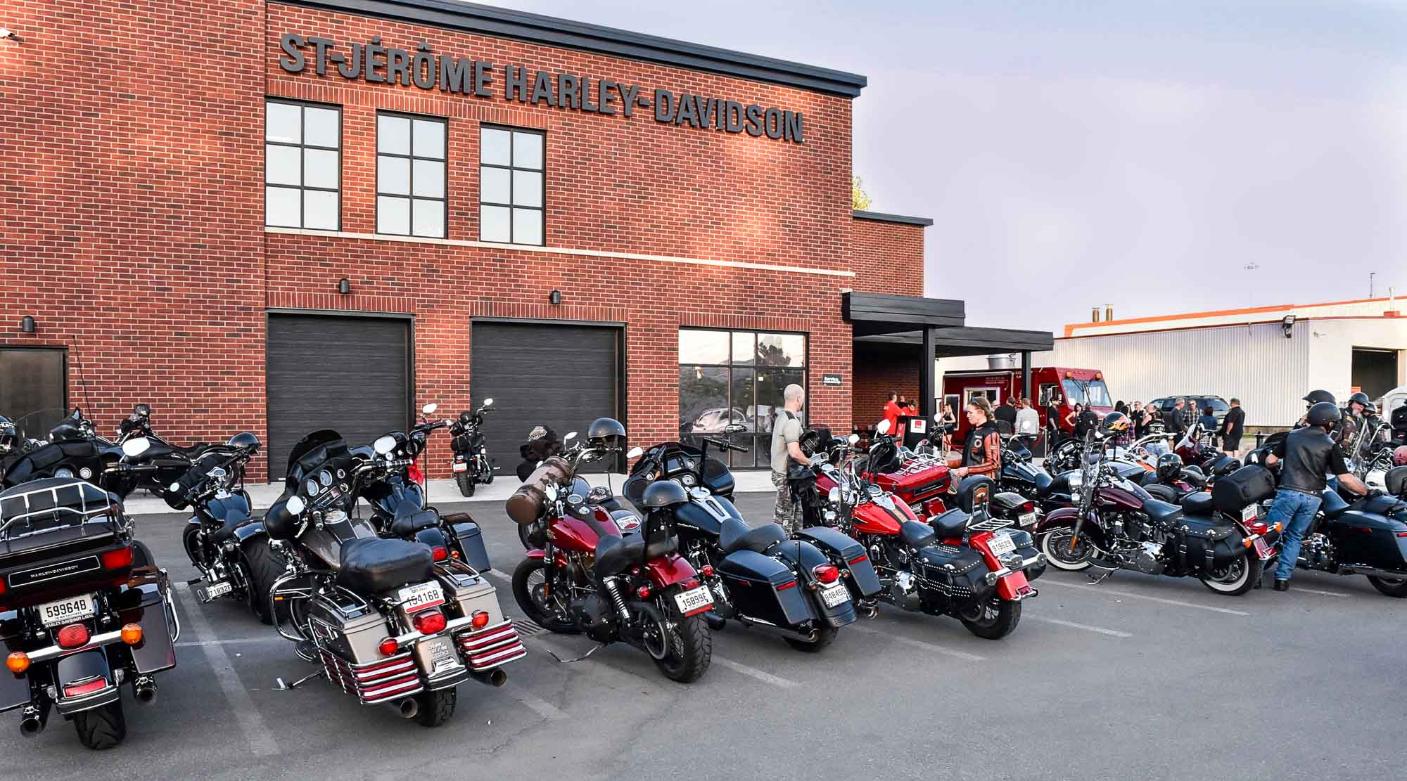 Harley St Jerome >> L'ouverture de St-Jérôme Harley-Davidson en photos - TopoLocal