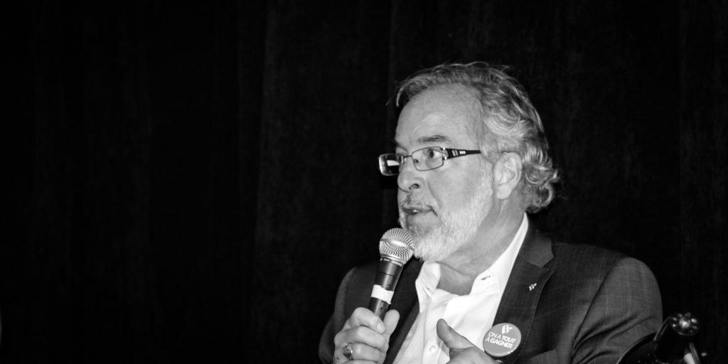 Avocat, Rhéal Fortin est le candidat du Bloc québécois dans Rivière-du-Nord.