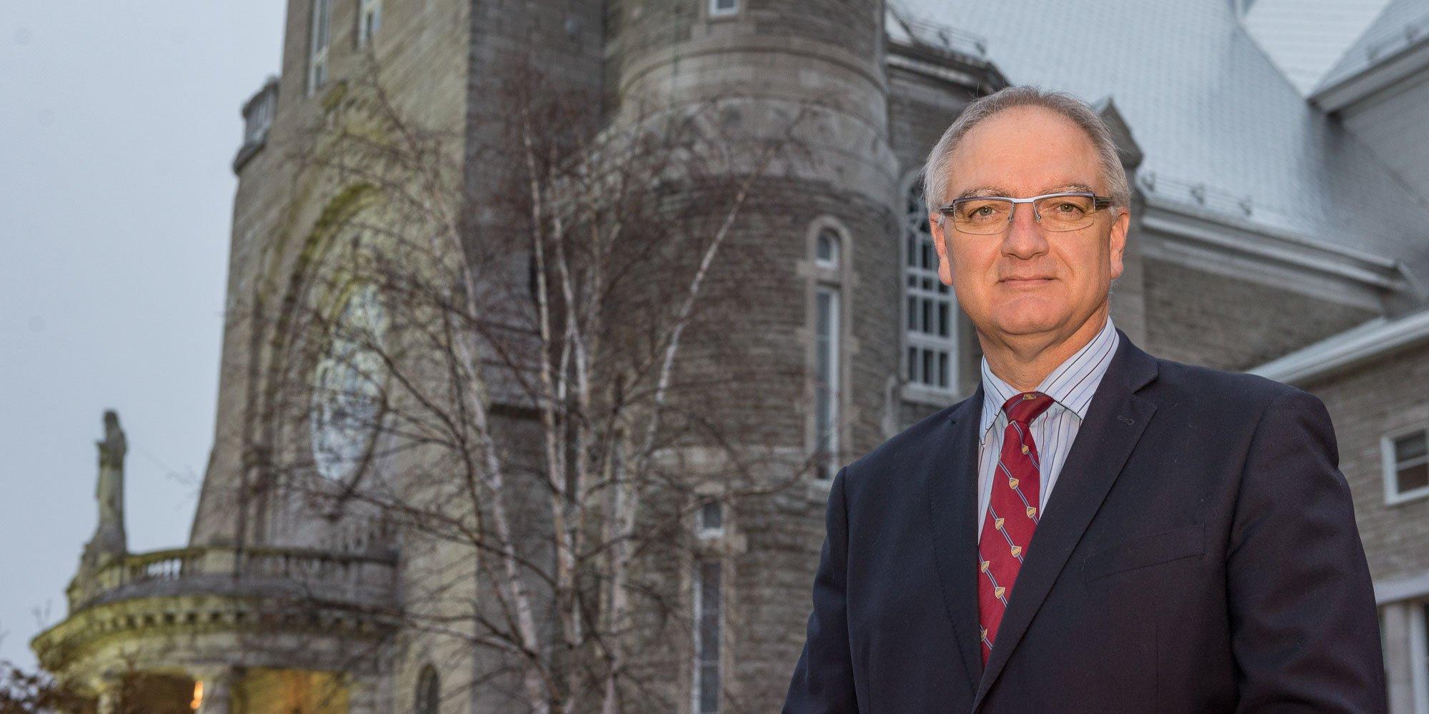 Marc Gascon aura eu trois carrières: criminologue, maire de Saint-Jérôme et directeur général de la paroisse.