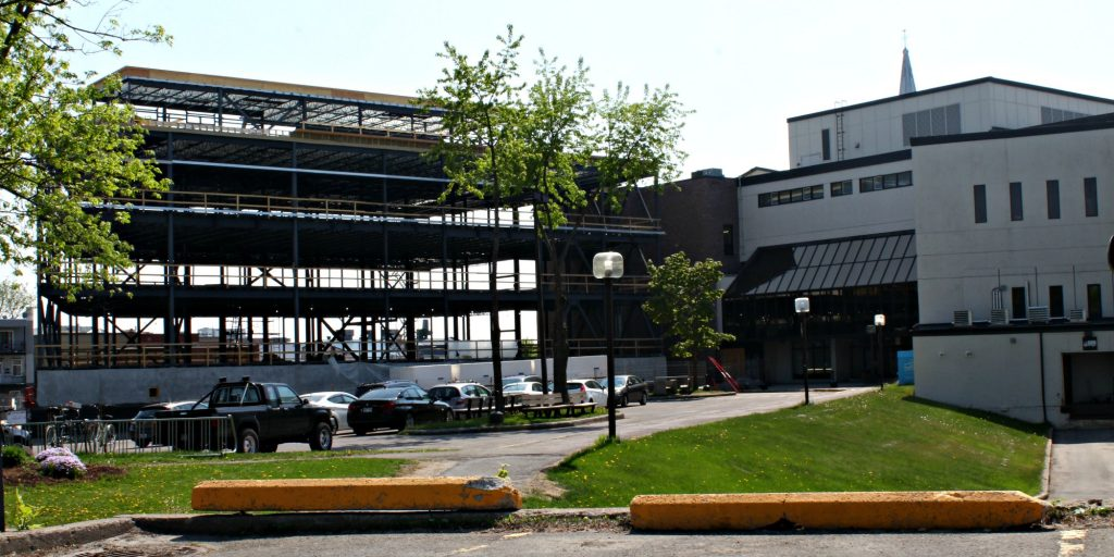 La pavillon K est en construction cet été sur le terrain du Cégep de Saint-Jérôme