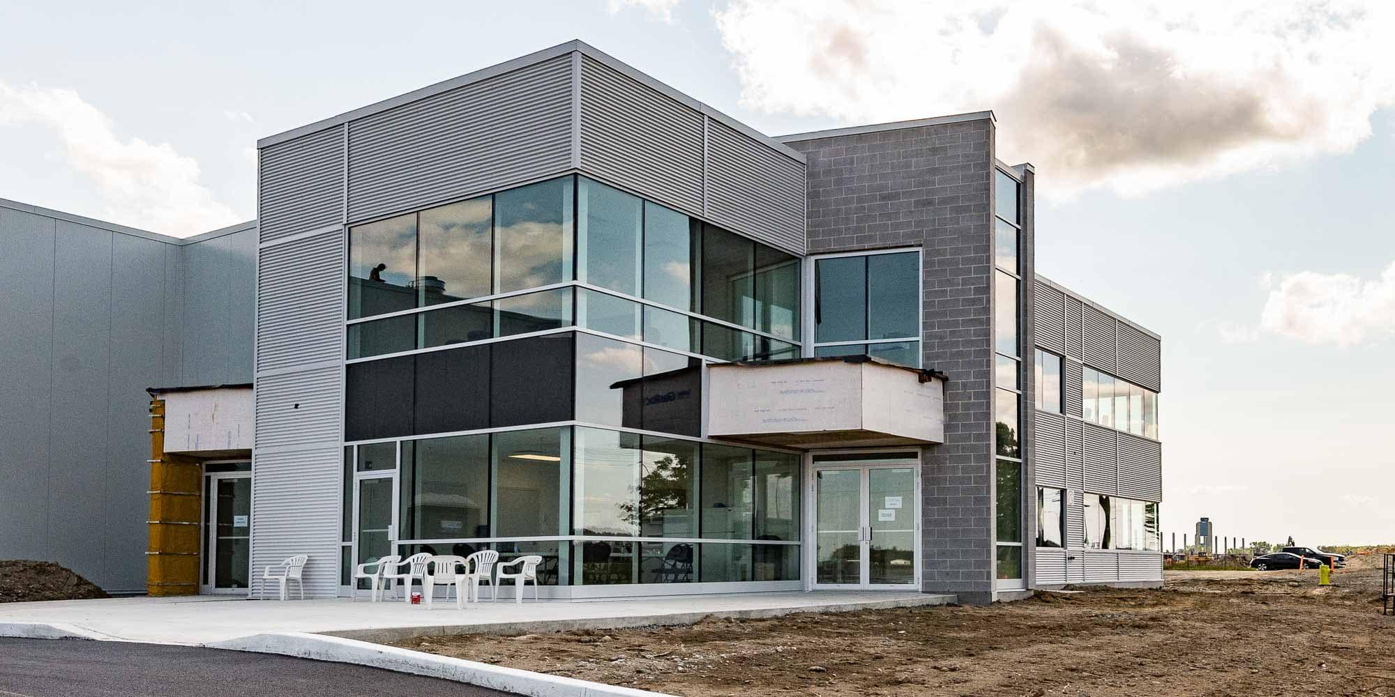 La nouvelle usine de Pama Manufacturing, à Mirabel.