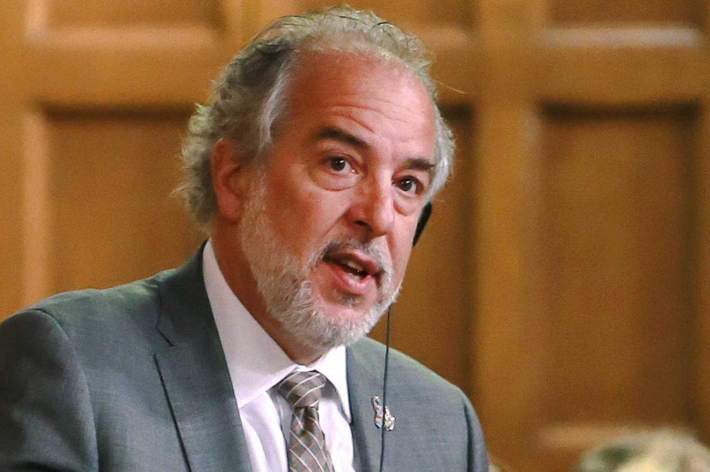 Le député de Rivière-du-Nord et chef intérimaire du Bloc québécois, Rhéal Fortin.