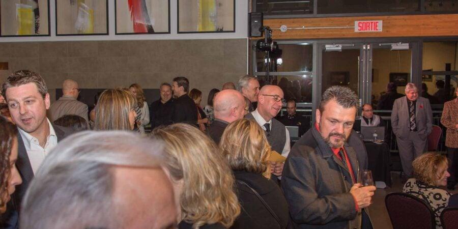 Il y avait foule au Casino du maire de Sainte-Adèle, installé pour un soir seulement à la Place des citoyens, le 4 novembre 2016.