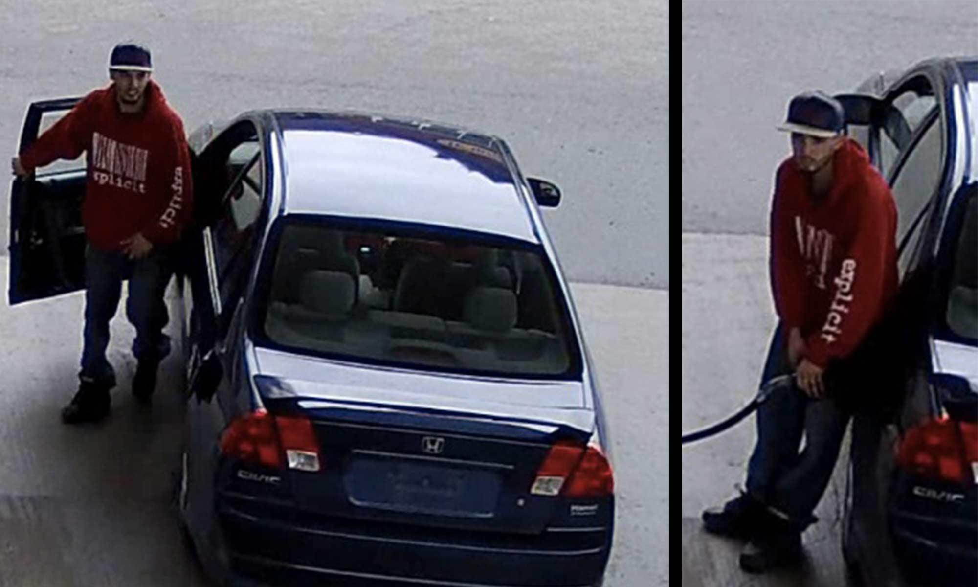 Images extraites des caméras de surveillance fournies par la Sûreté du Québec.