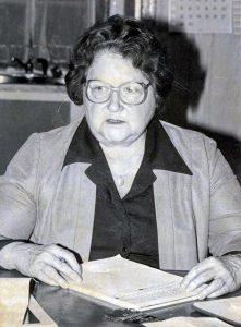 Liane Lamarche Nightingale avait succédé à son mari en 1976 dans la désormais disparue New-Glasgow.
