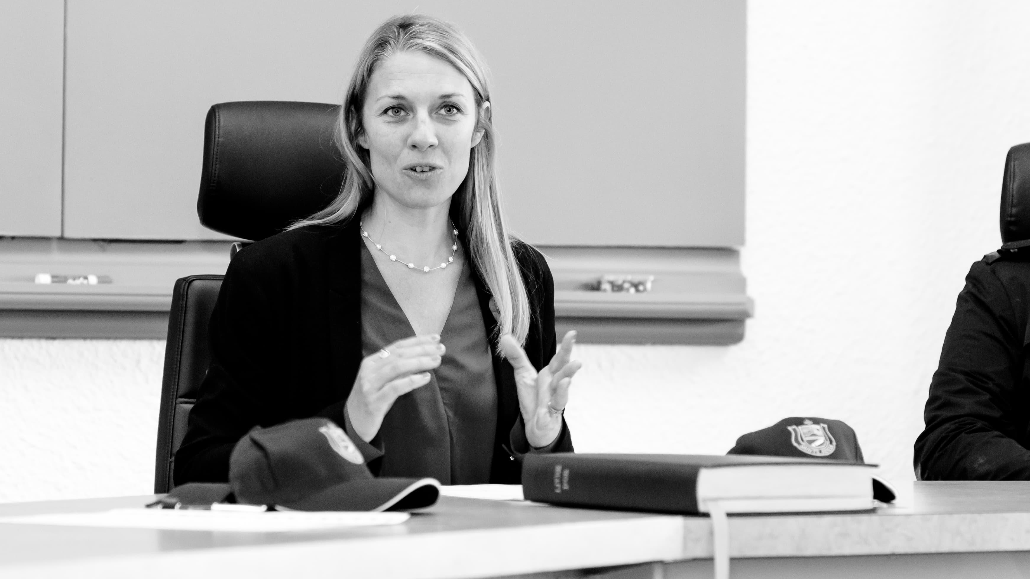 La conseillère sortante Nadine Brière devient la nouvelle maire de Sainte-Adèele.