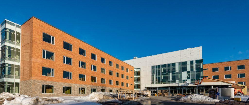 Les lits occupés à D'Youville et à L'Auberge seront transférés dans ces nouveaux locaux, aussi à proximité de l'hôpital.