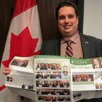 L'édition Printemps 2018 de l'Infolettre de David Graham est la 1re au pays offerte dans un nouveau format en couleurs, à la suite d'un projet pilote du service d'impression de la Chambre des communes pour les bulletins parlementaires.