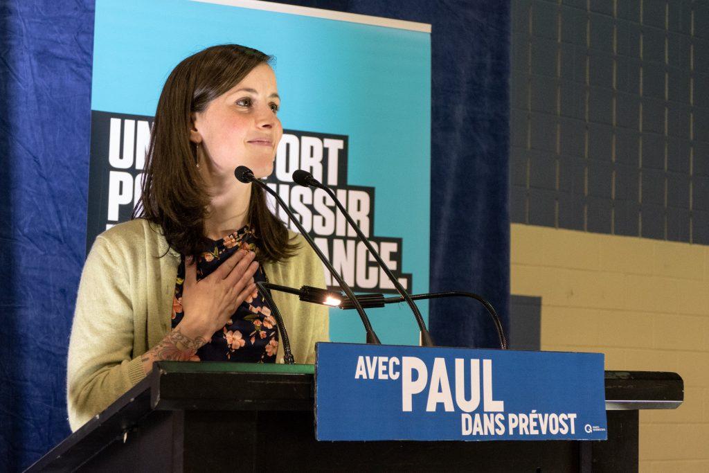 Karine Gauvin a concédé la victoire et appelé tout le monde à l'harmonie dans l'objectif de remporter l'élection.