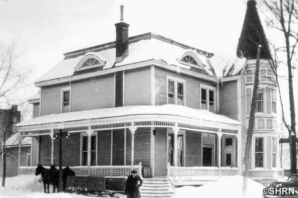 La Maison Prévost en 1932. Photo fournie par la Société d'histoire de la Rivière-du-Nord