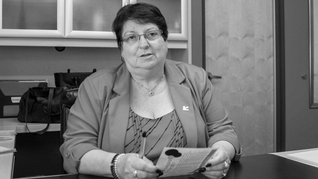 Louise Gallant, mairesse de Sainte-Sophie