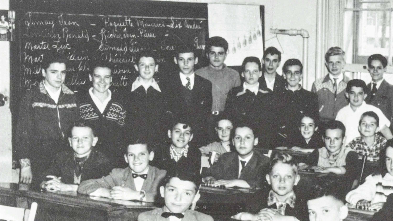 La classe de M. Guénette