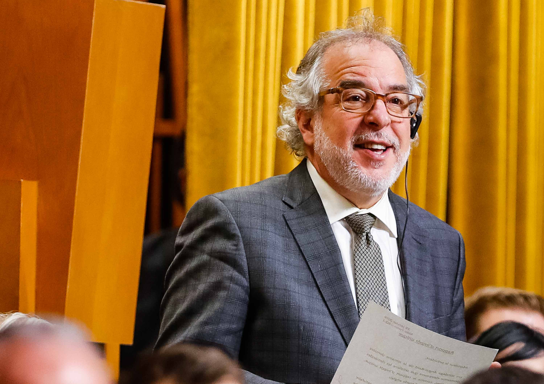 Le député de Rivière-du-Nord Rhéal Fortin.
